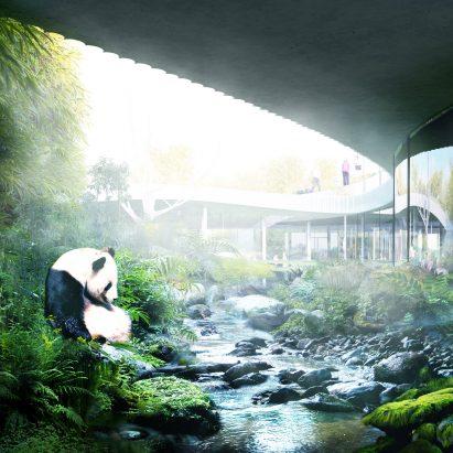 Panda House by Bjarke Ingels Group