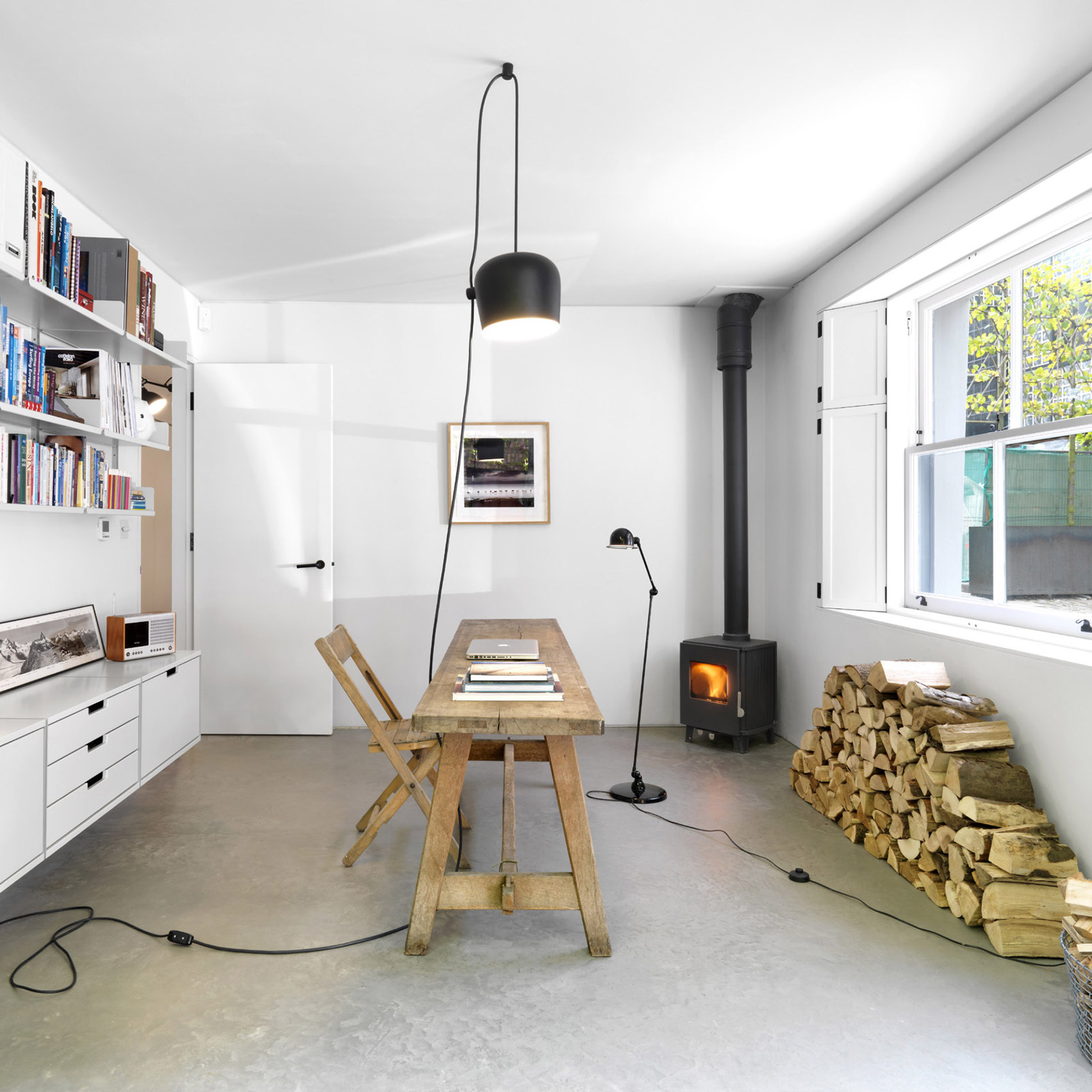 10 rustic home interiors from Dezeen's Pinterest boards that go back to basics