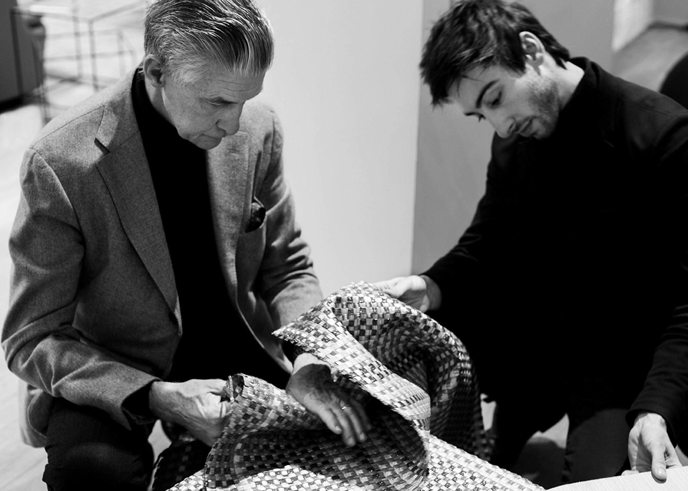 Bolon's collaboration with Cappellini