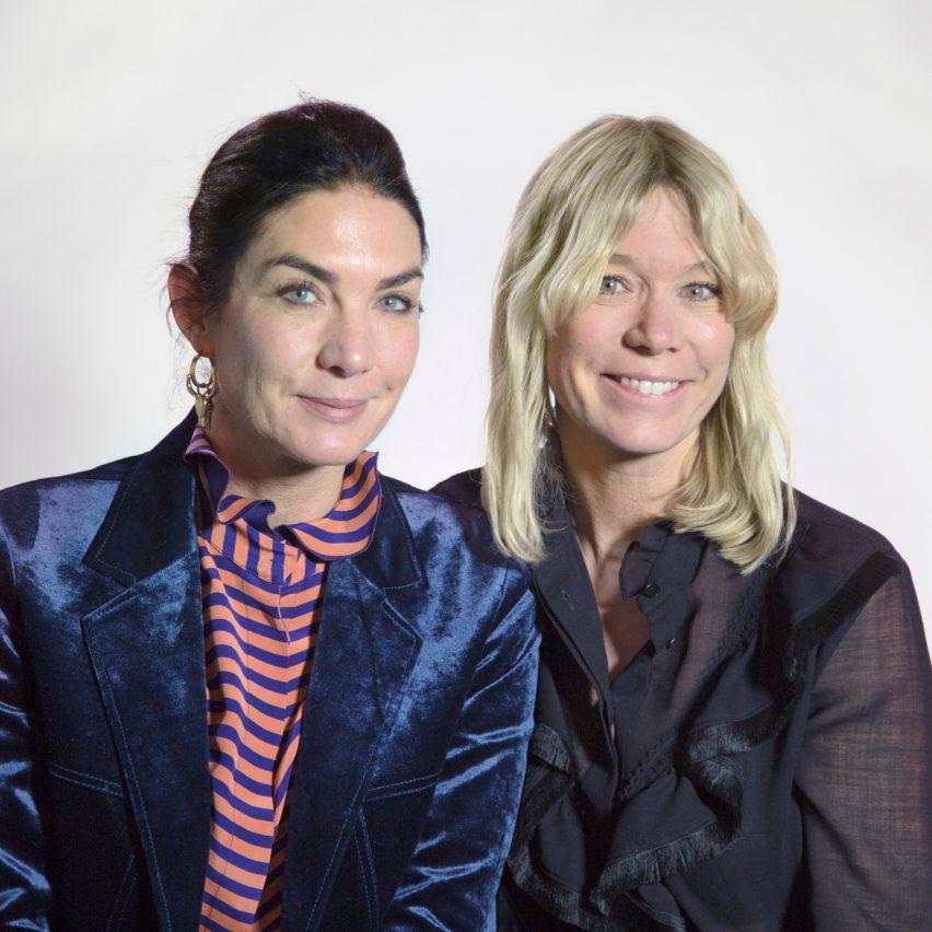 Bolon directors Marie and Annica Eklund