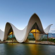 This week's Dezeen Mail features a rural chapel with a sinuous roof and Nike's sports hijab