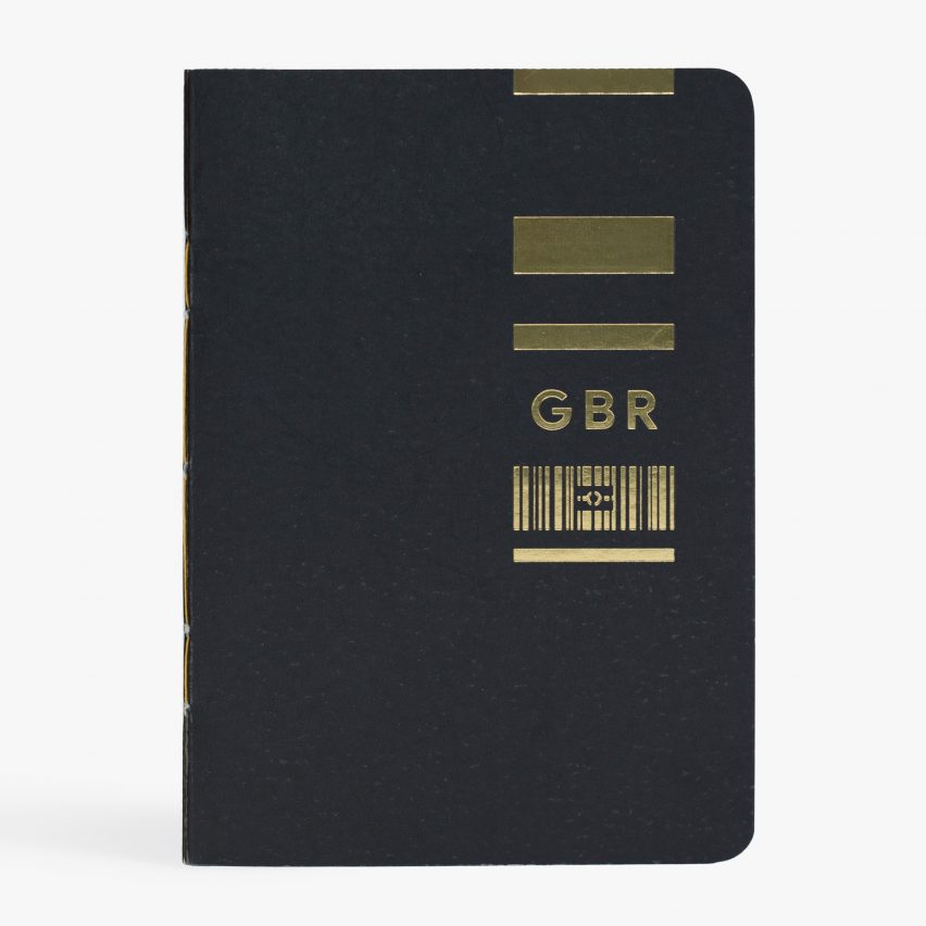 Passport design by Eric Wong and Elliot Jeffries