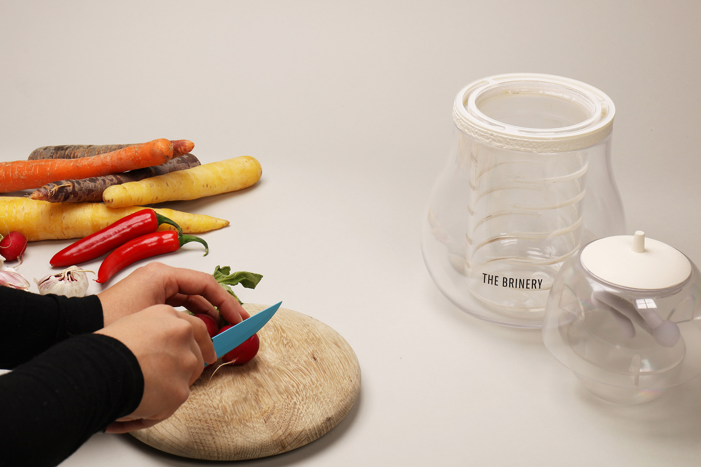 Royal College of Art students design The Brinery home fermentation tool