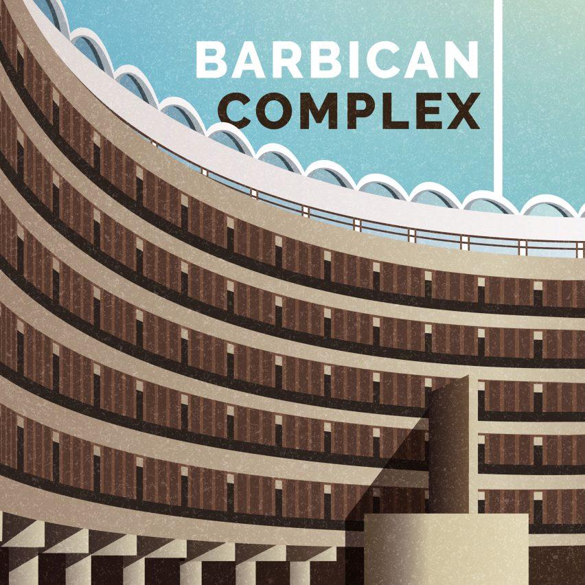 Brutalist illustrations by Marta Colmenero for GoCompare