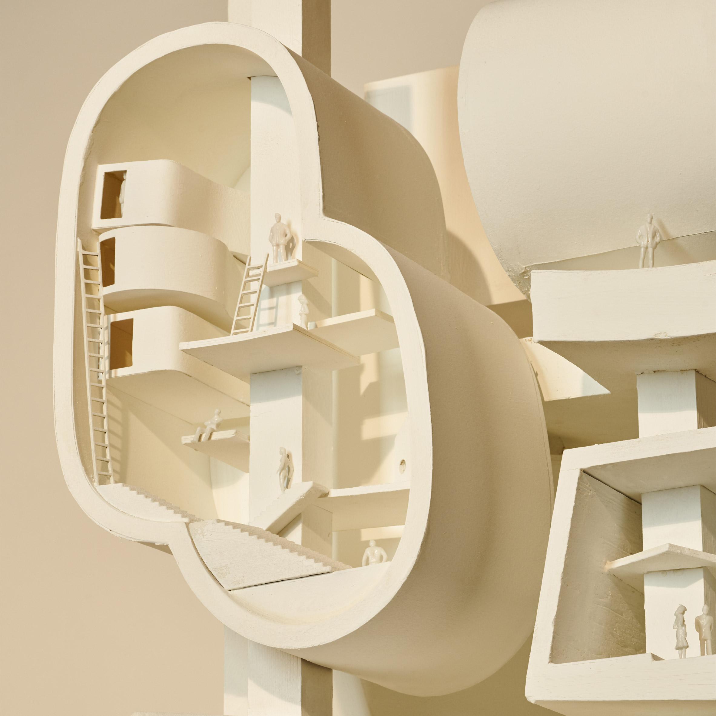 bureau spectacular shows fantastical architectural models at sfmoma - Bureau Design