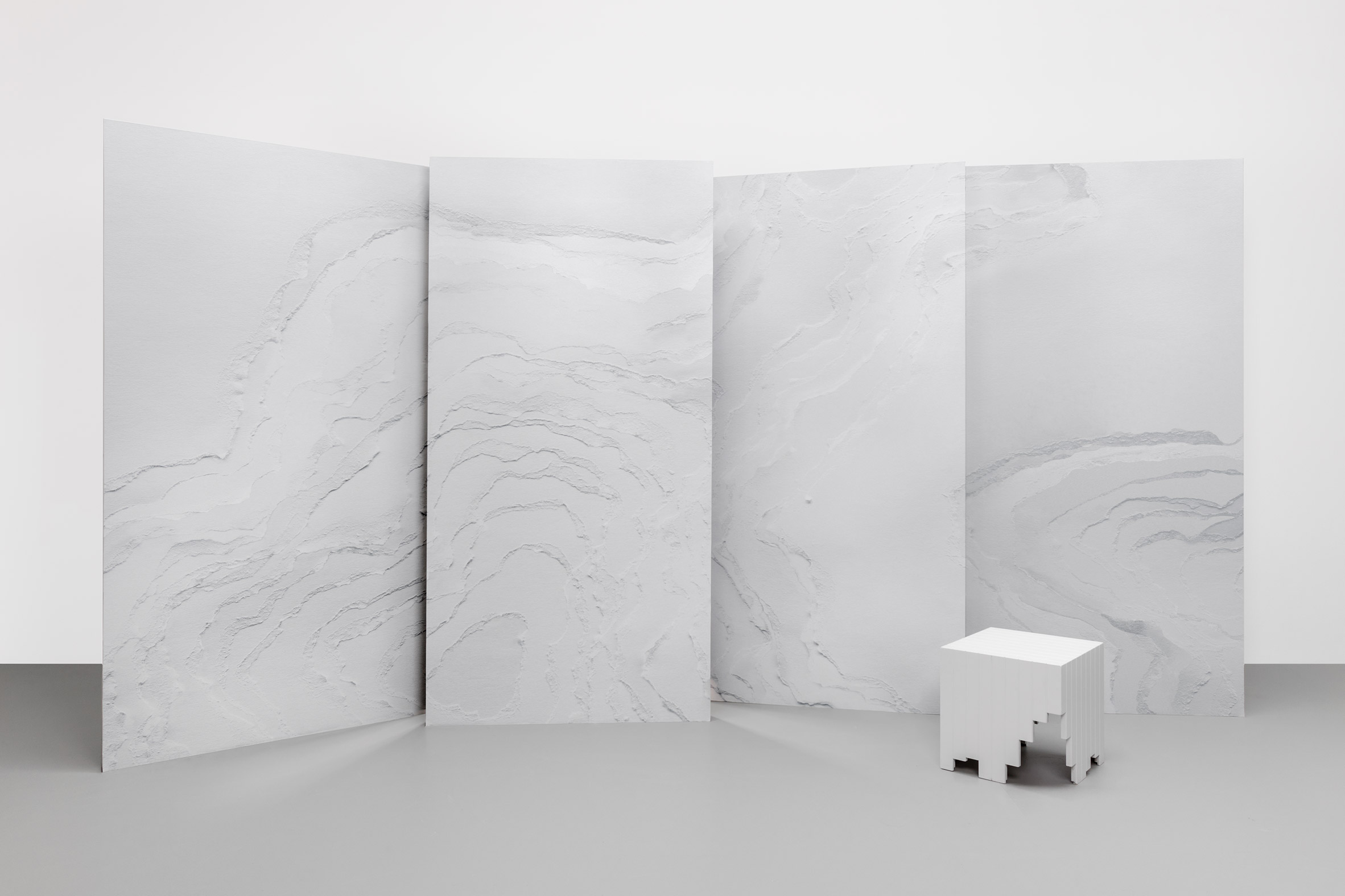 Snarkitecture and Faye Toogood debut wallpaper designs for Calico