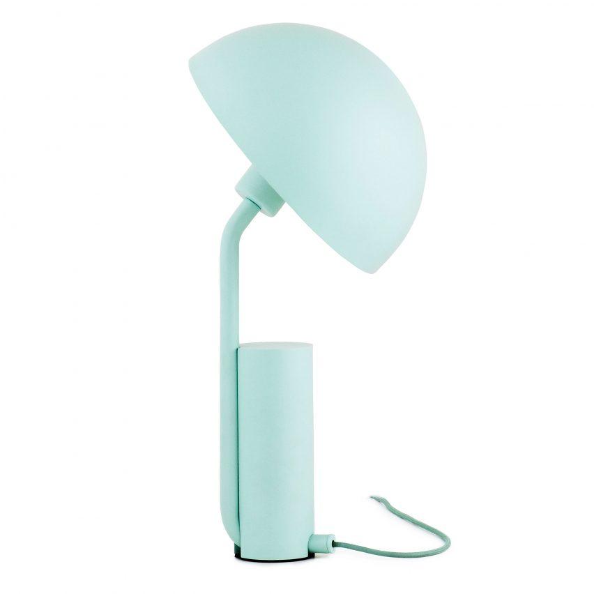 Cap lamp by Kaschkasch