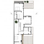 Plan of Casa Zihuaren by Intersticial Arquitectura