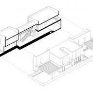 Diagram of Casa Zihuaren by Intersticial Arquitectura