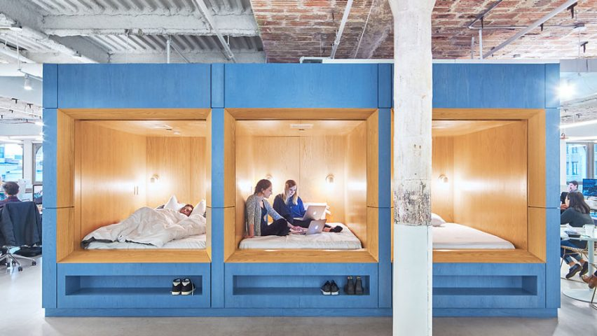 Float Design Studio's office for Casper