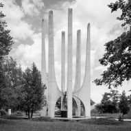 Composite ex-soviet war memorials by Jan Kempenaers