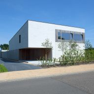 Concrete House in Belgium by Clauwers & Simon