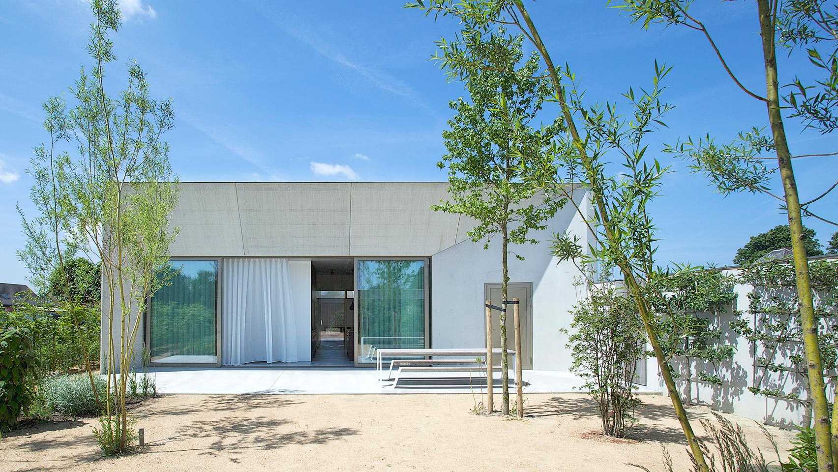 Brutalist Inspired Residence By Clauwers U0026 Simon Is Arranged Around A  Central Courtyard