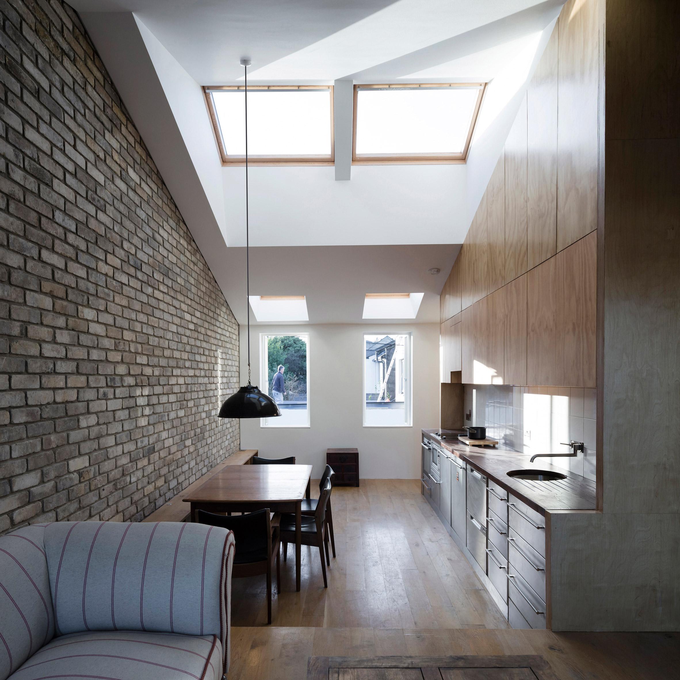 Dua Designs Contemporary Dublin Mews House With Sunken Concrete