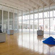 Daniel Arsham's Installation, Hourglass, at the High Museum of Art