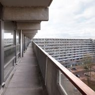 Colossal Amsterdam housing block brought up to date with customisable apartments
