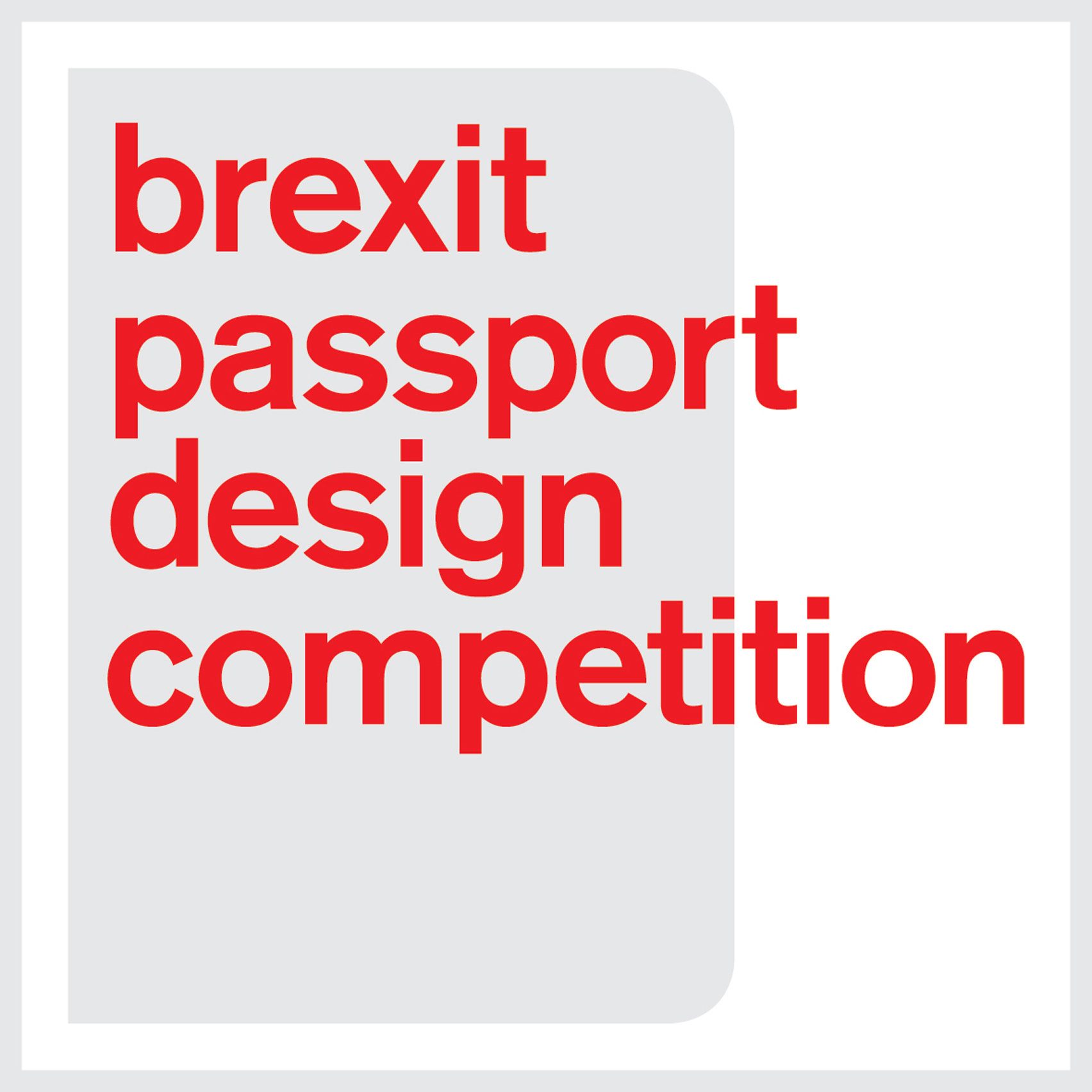 Deadline approaching for Dezeen's Brexit passport design competition