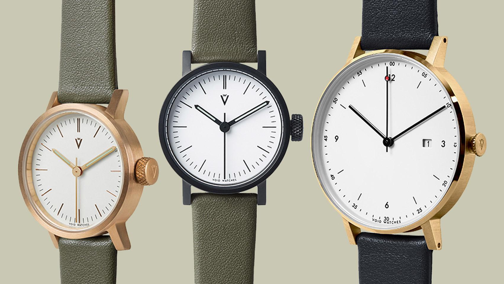 Void at Dezeen Watch Store