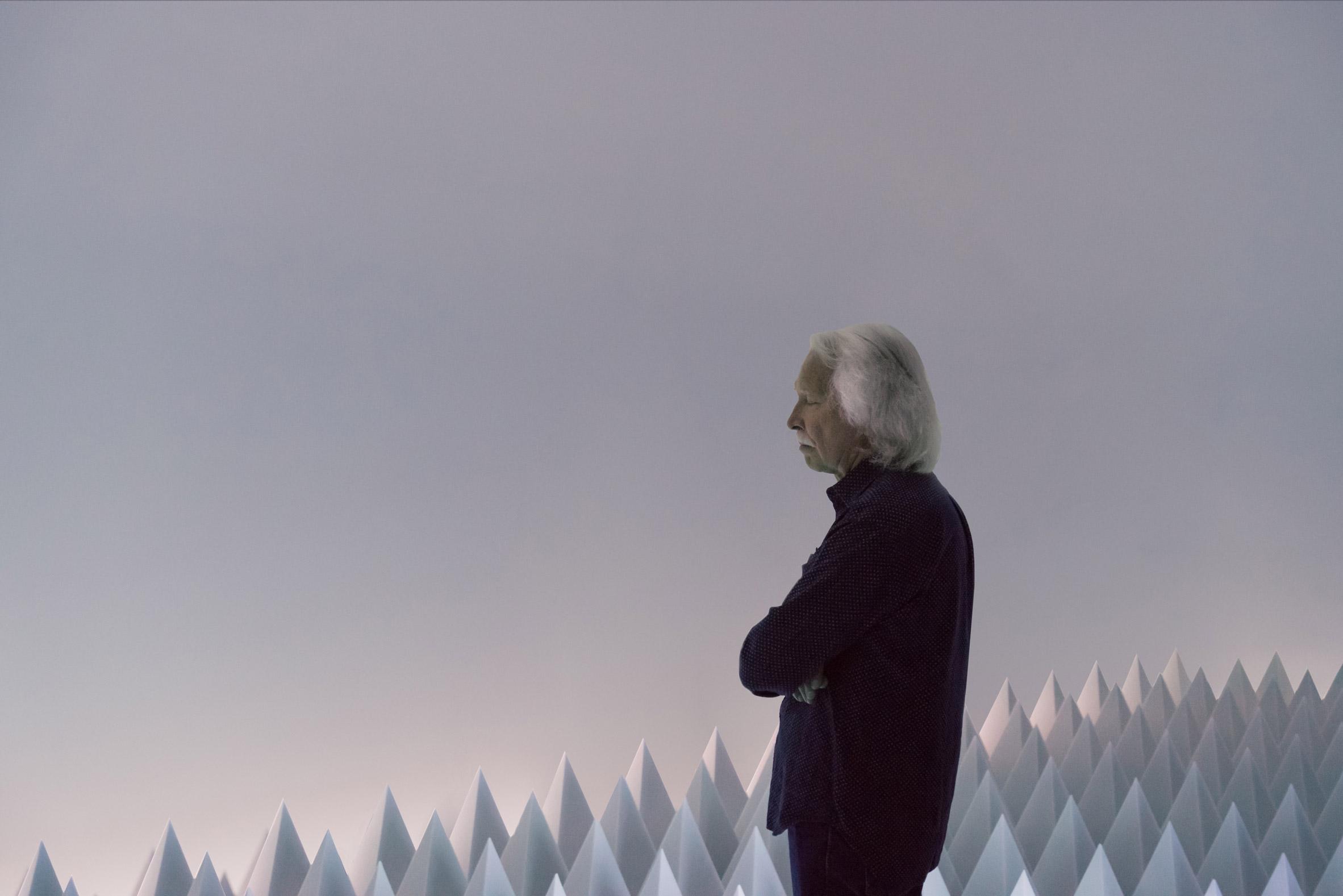Doug Wheeler installs spiky-floored Synthetic Desert at New York's Guggenheim Museum