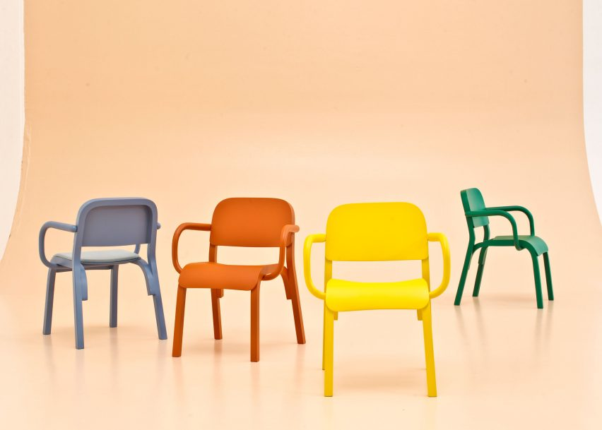 Dumbo chairs by Tomek Rygalik