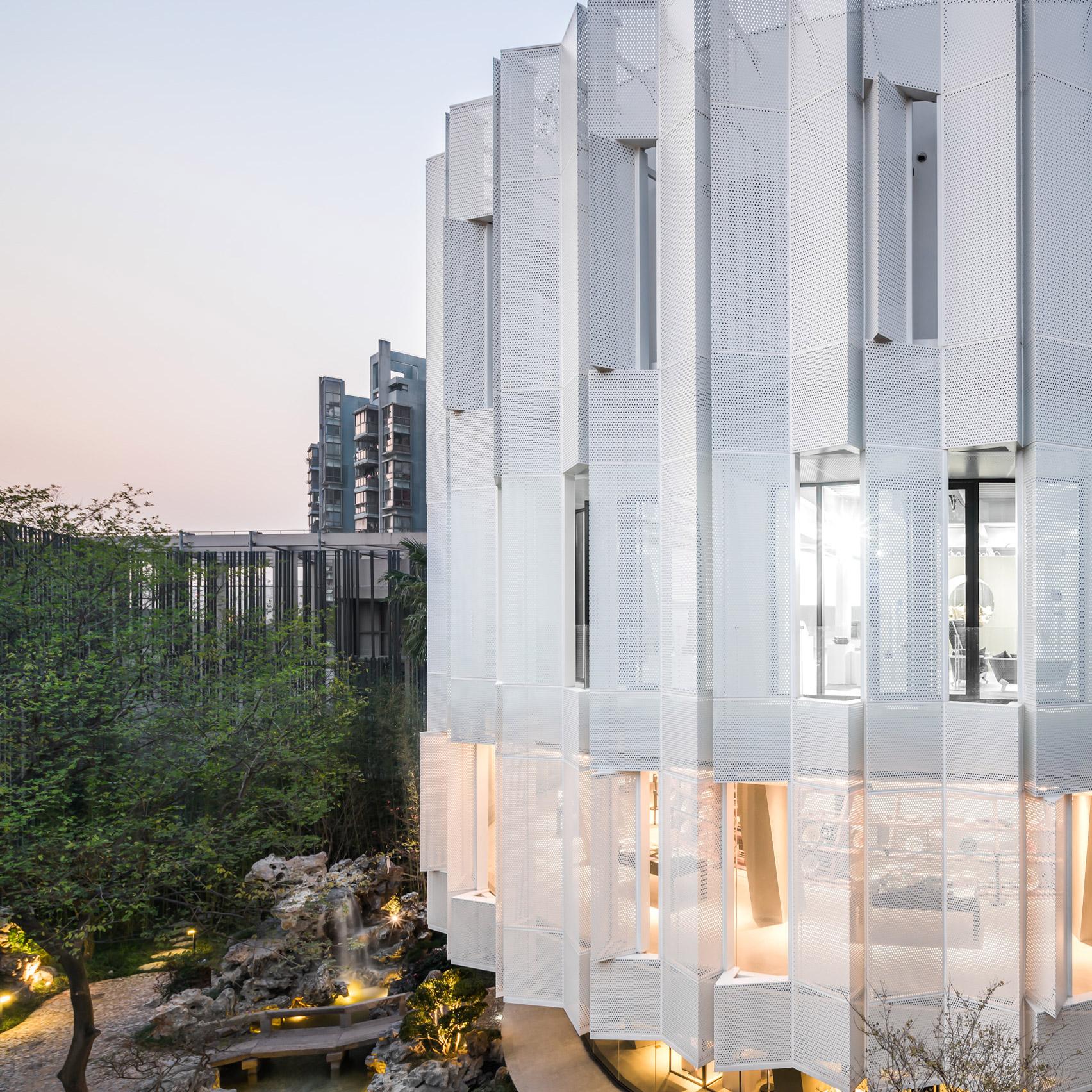 Buildings with perforated metal facades | Dezeen