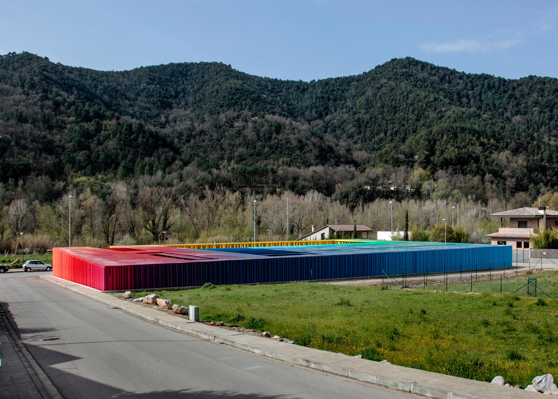 El Petit Comte Kindergarten, 2010, Besalú, Girona, Spain