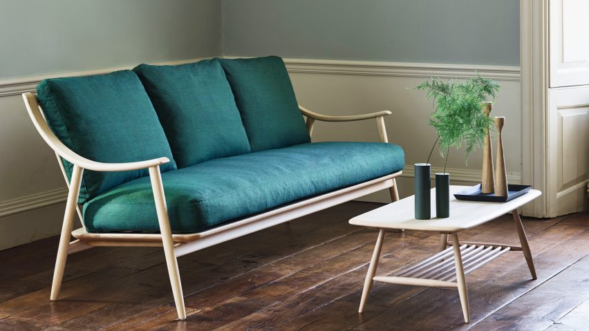 Beau Ercol Presents Steam Bent Wood Furniture By Dylan Freeth At Milan Design  Week