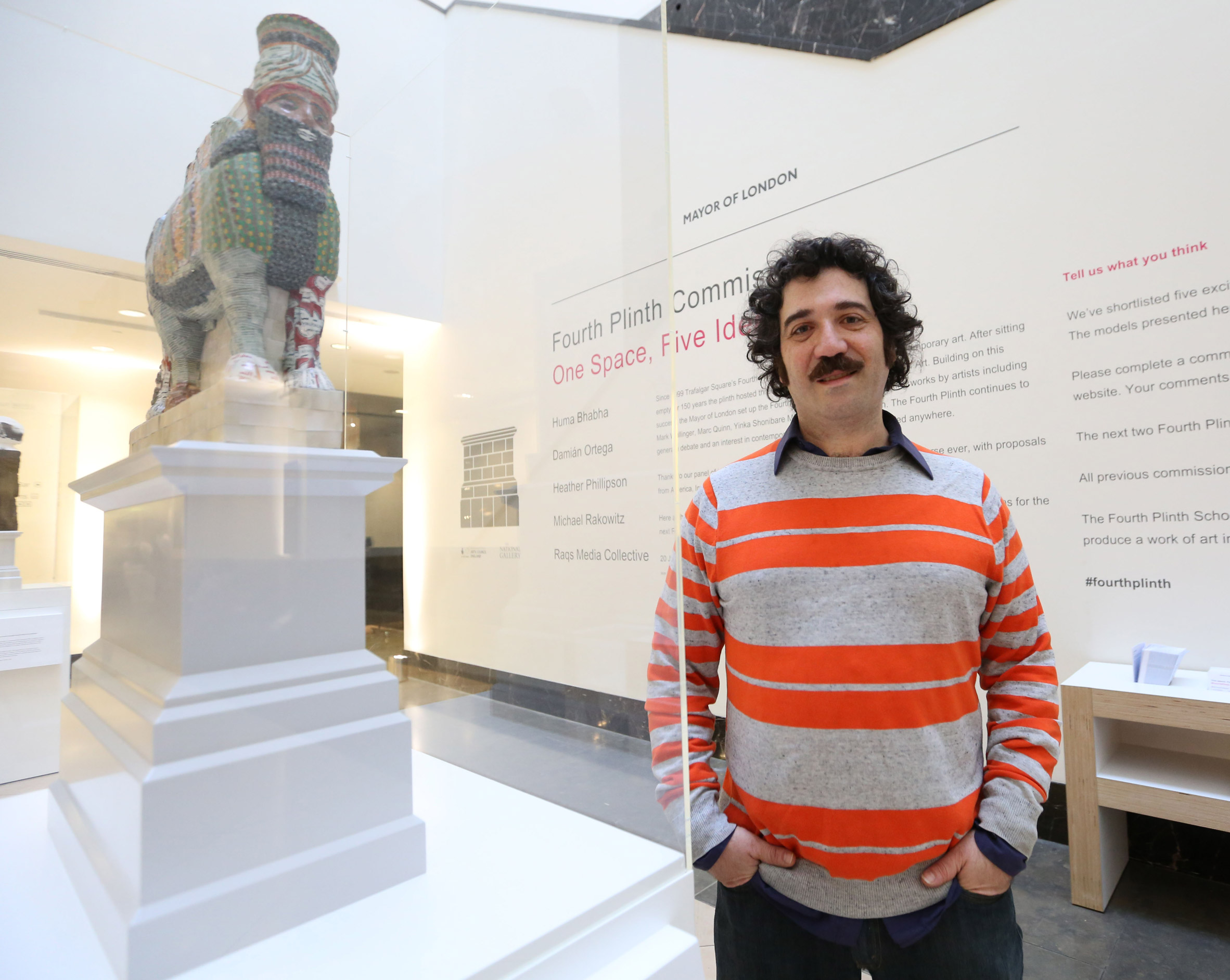Replica of artefact destroyed by ISIS announced as London's next Fourth Plinth installation