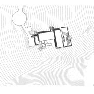 Plan for Franklin Mountain House by Hazelbaker Rush