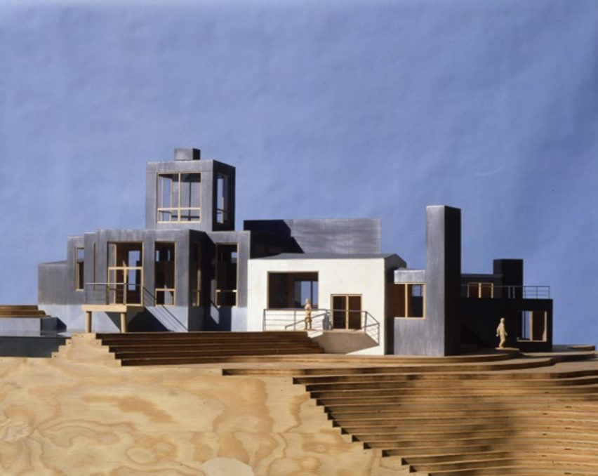 Model by Frank Gehry