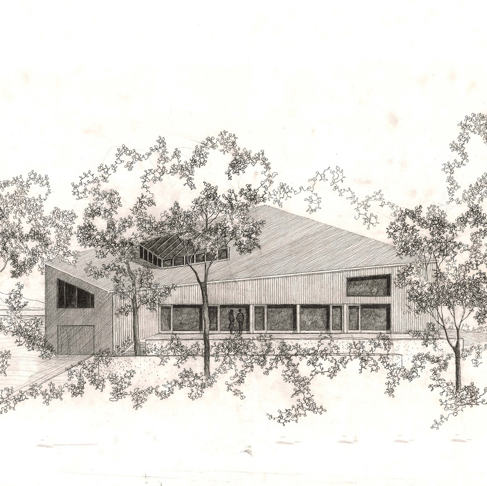 Sketch by Frank Gehry