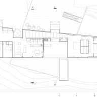 Plan for GZ House by Studio Cáceres Lazo