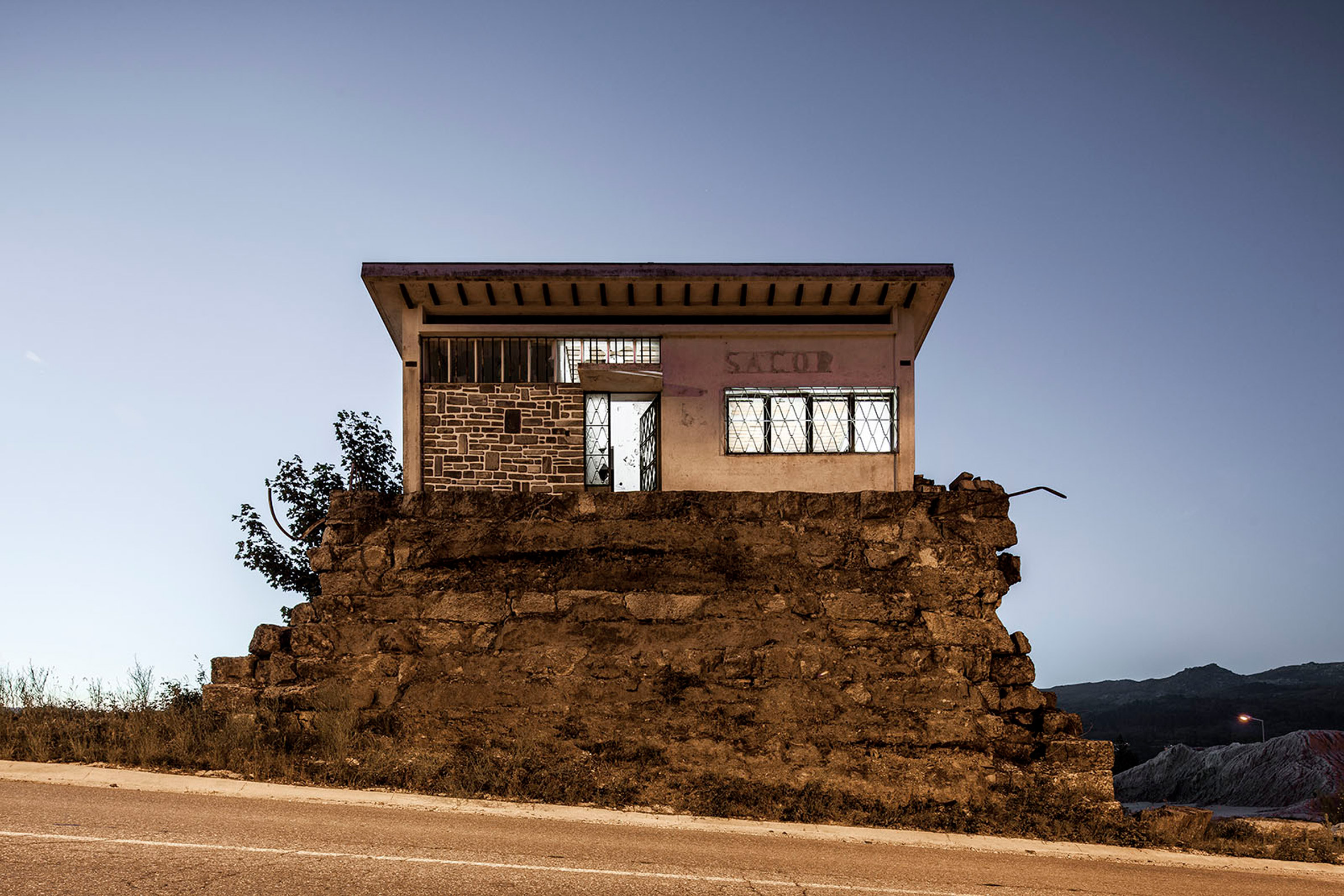 Nelson Garrido showcases buildings left empty after financial crisis hit Portugal