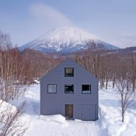 Stripped-back holiday chalet by Florian Busch is set at the foot of Mount Yōtei in Japan