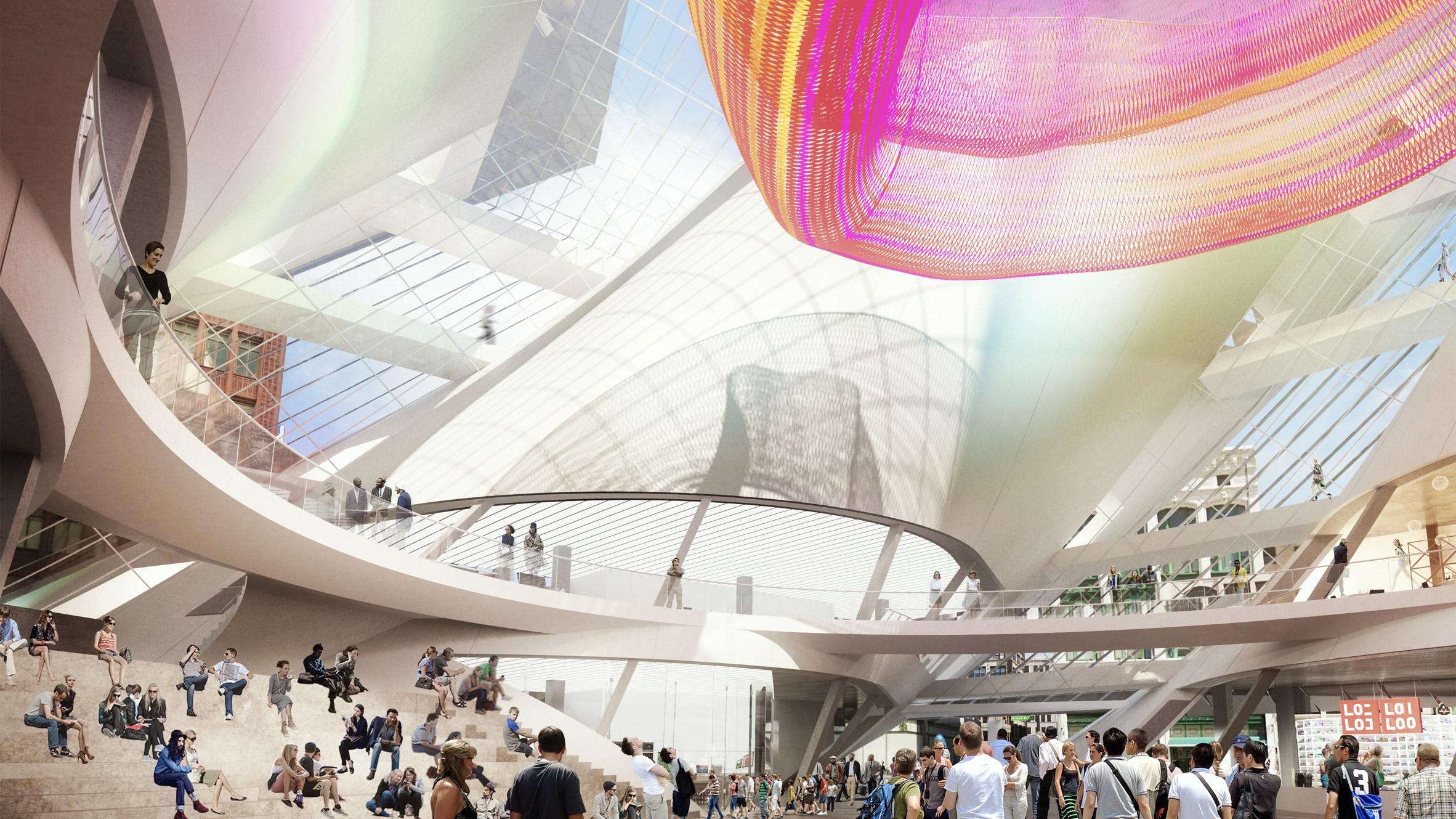 Hudson's Site Development by SHoP Architects