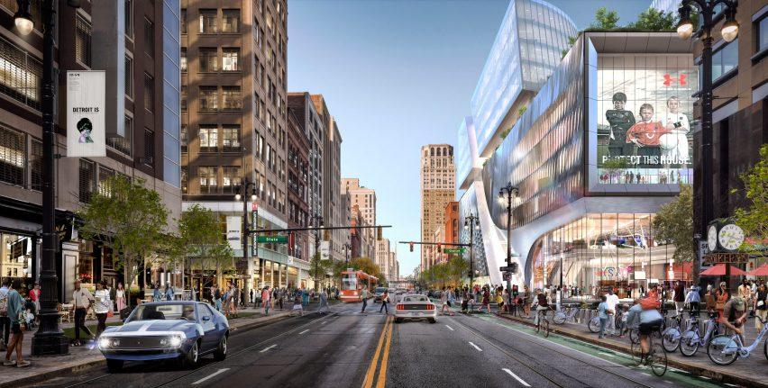 Hudson's Site Development by SHoP Architects