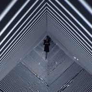Refik Anadol's Infinity installation at SXSW immerses visitors in patterns of light