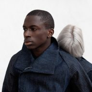 Pauline van Dongen's touch-sensitive denim jacket gives intimate back rubs