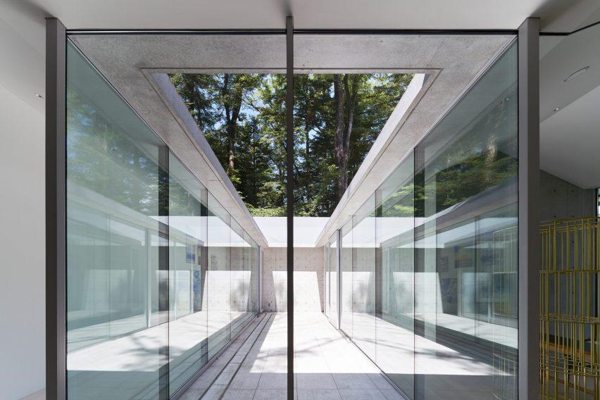 It is a Garden house by Megumi Matsubara & Hiroi Ariyama