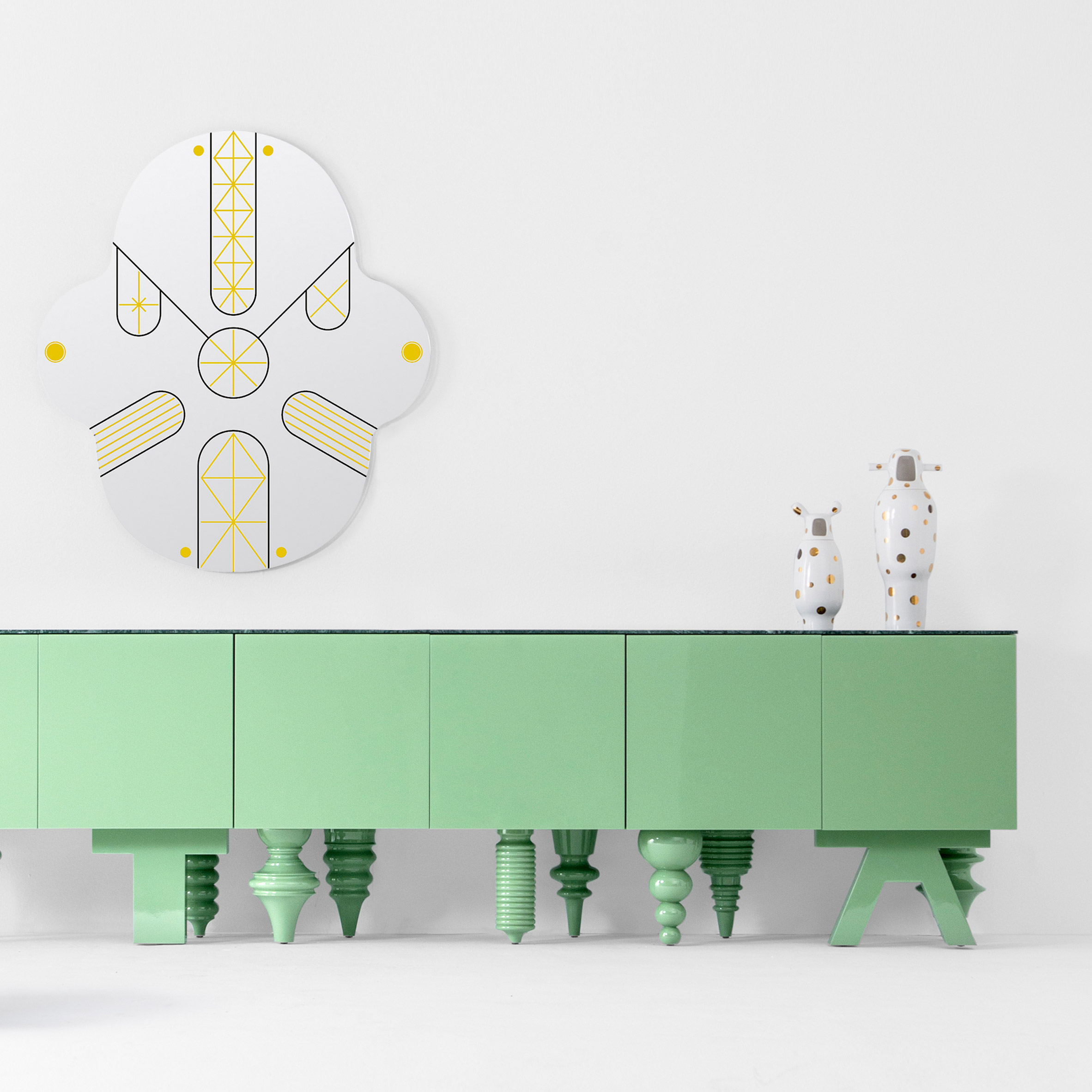 Jaime Hayon's Showtime furniture for BD Barcelona now available in new finishes