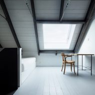 10 homes illuminated by skylights from Dezeen's Pinterest boards