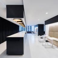 Garcia Tamjidi designs minimal office interior for San Francisco cosmetics company