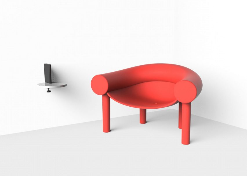 Sam Son chair by Konstantin Grcic