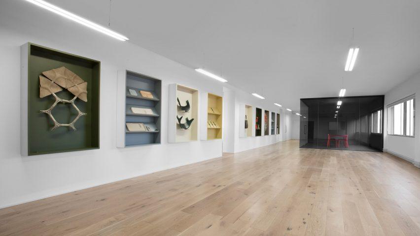 Benjamin Huberts Layer Studio Converts East London Warehouse Into