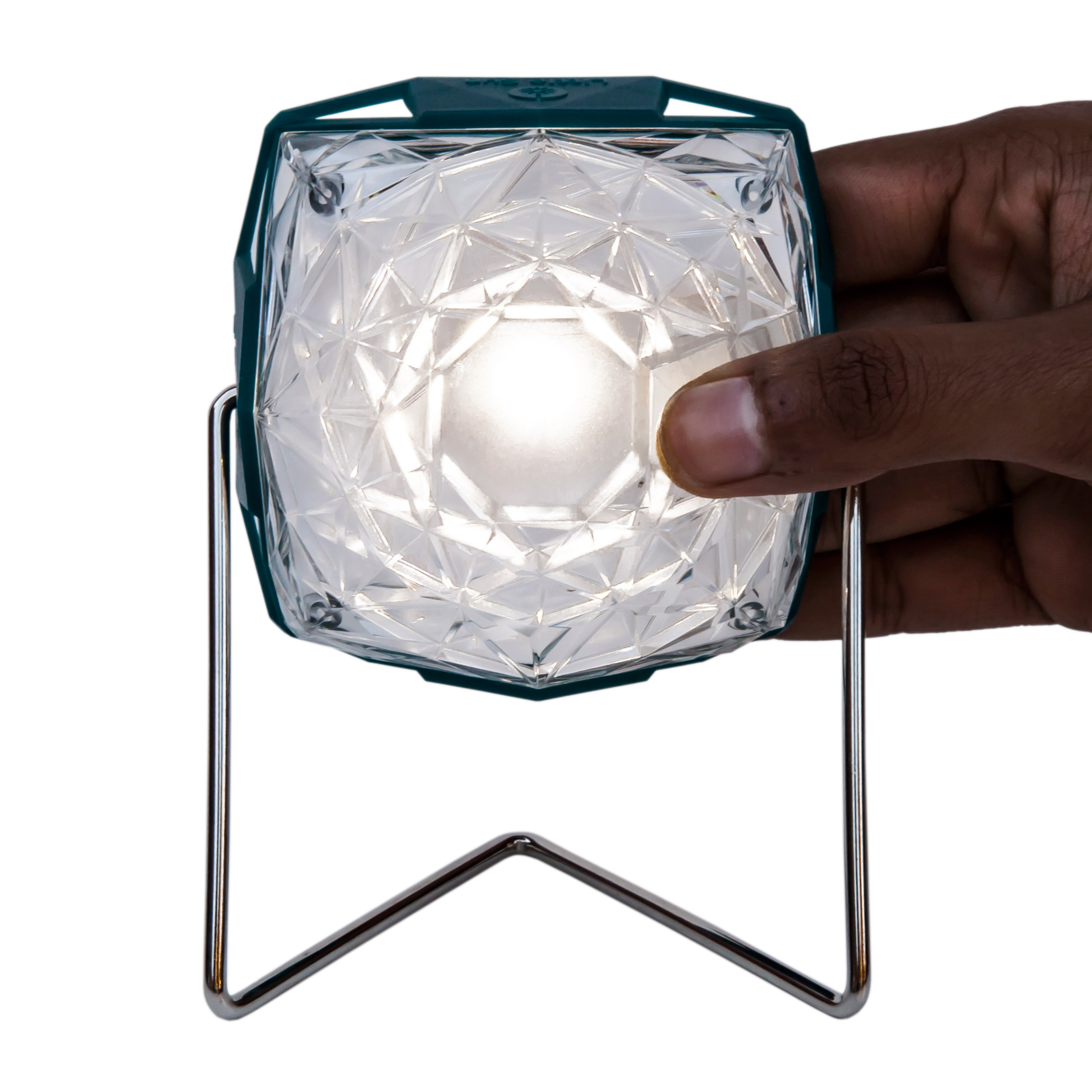 Olafur Eliasson reveals his latest pocket-sized solar lamp, the Little Sun Diamond