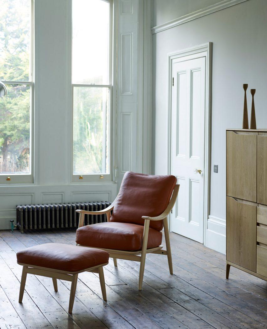 ercol-marino-chair-stool-tan-leather