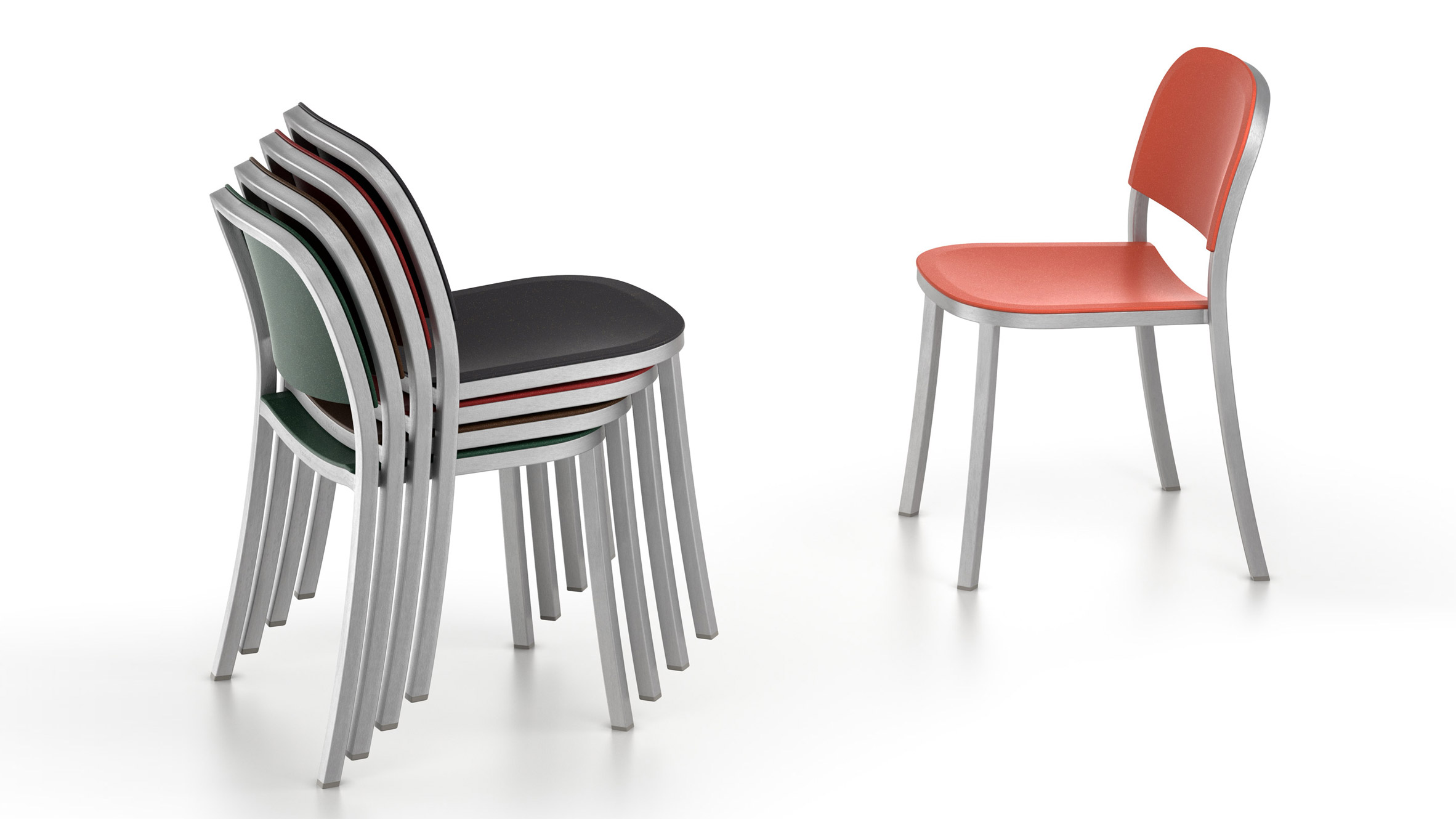Jasper Morrison debuts recycled aluminium furniture collection for