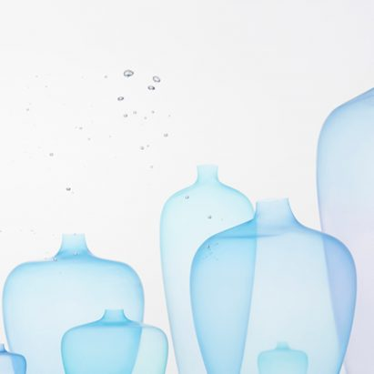 Milan: Jellyfish vase by Nendo