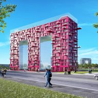 MVRDV's letter-shaped housing blocks will spell out HOME across old army barracks