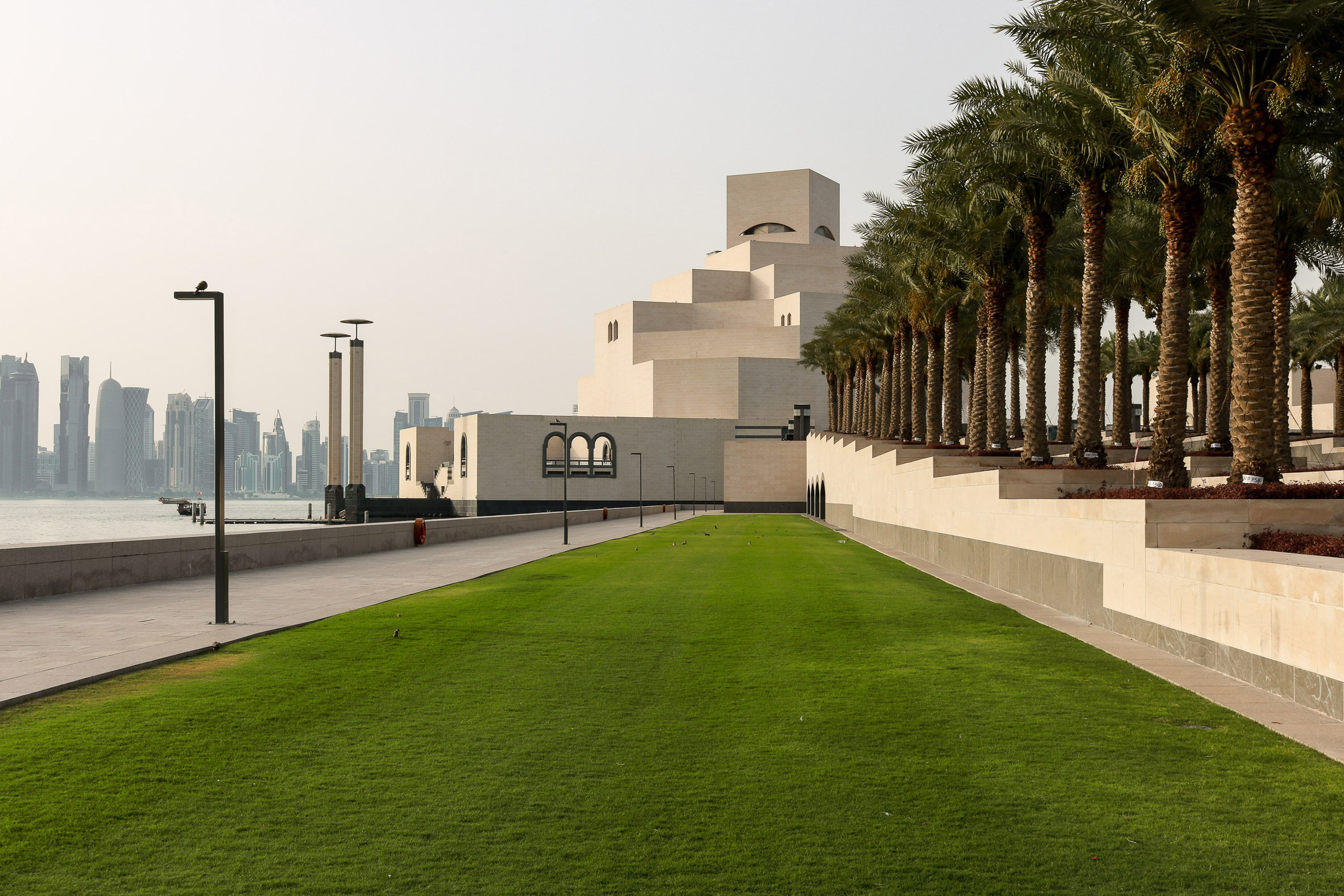 IM Pei's Museum of Islamic Art captured in new photographs by Yueqi Jazzy Li